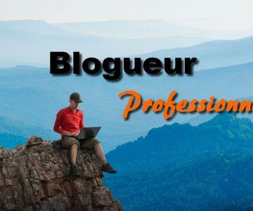 blogueur professionnel